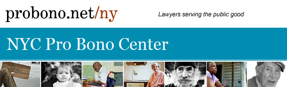 NYC Pro Bono Center Newsletter