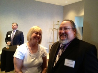 Sue Woodward and Bruce Frazier