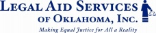 Legal Aid Services of Oklahoma, logo