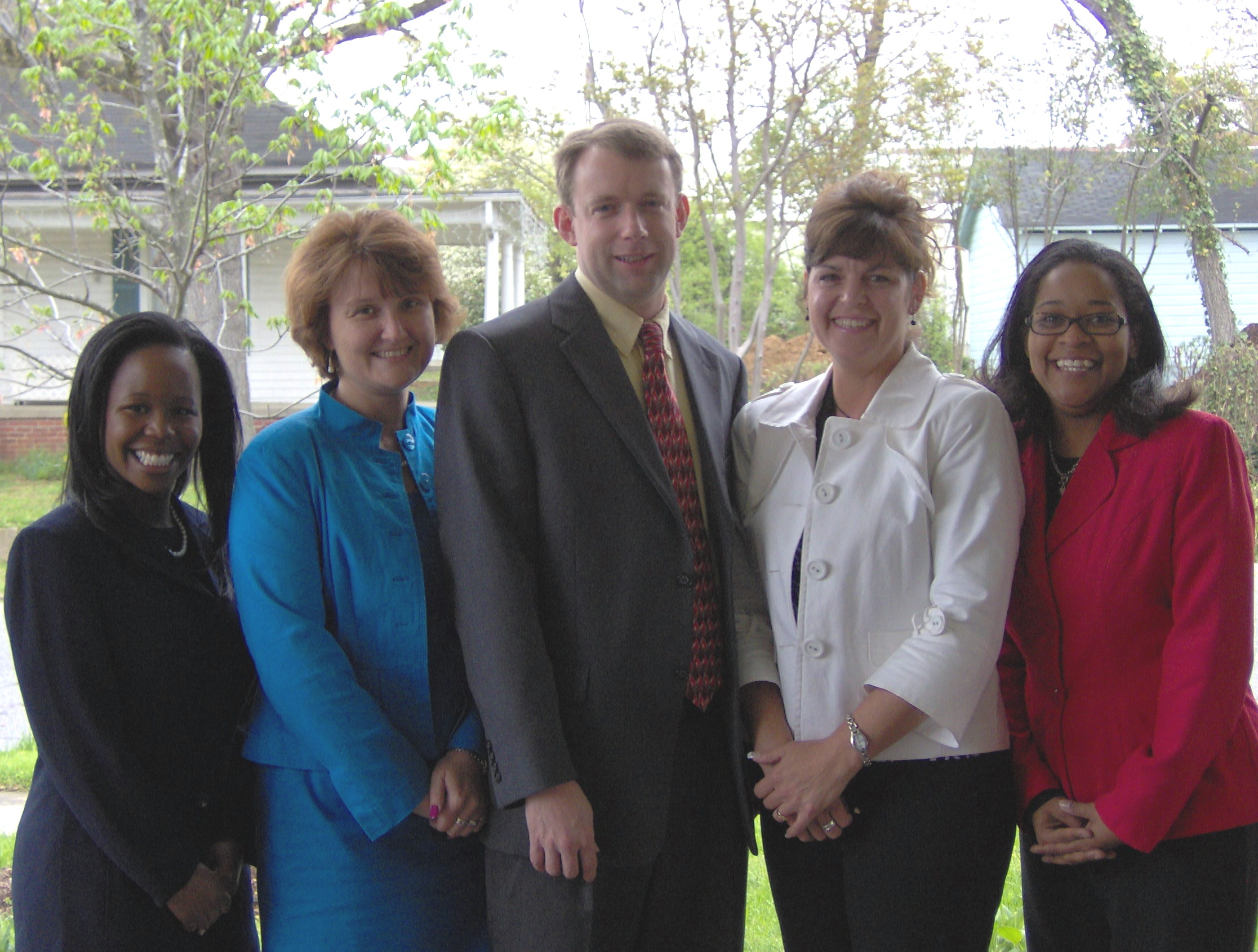 Gaston County VLP 2008 pro bono honorees