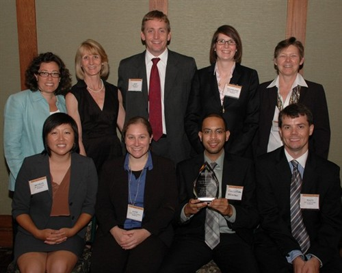 The NCCU and UNC Schools of Law captured the Law Student Group Pro Bono Award.