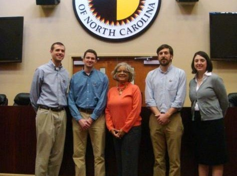 Wake Forest University School of Law students - Pro Bono Project Spring Break Service Trip, March 7-12, 2011