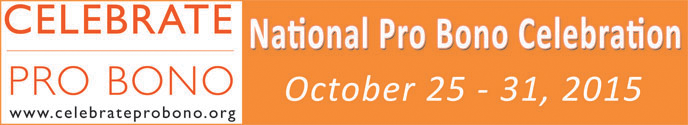 Logo for 2015 National Pro Bono Celebration
