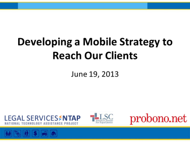 Mobile Webinar Intro Slide